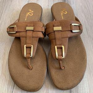 Aerosoles Comfort Mext Book Sandals Size 7.5
